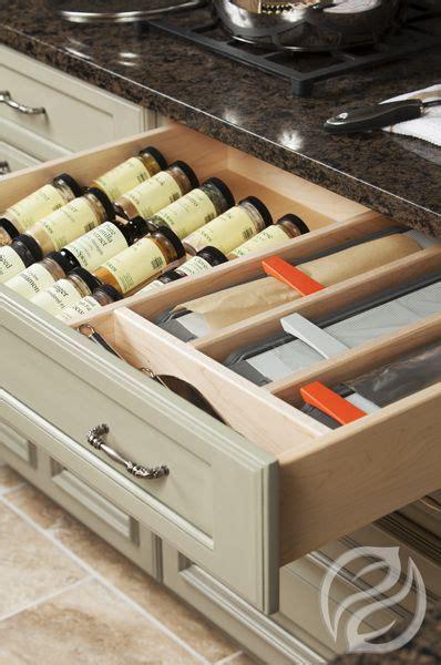 greenfieldcabinetrycom spice drawer insert  drawer