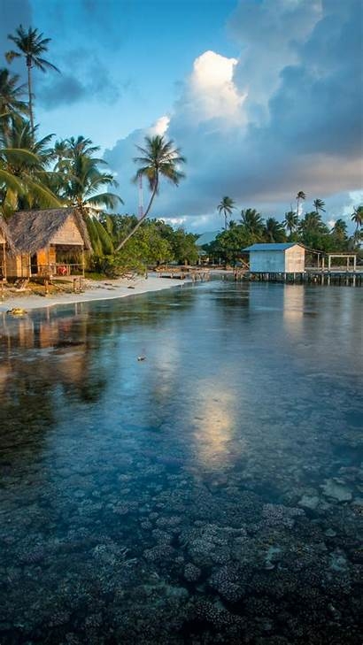 Polynesia Travel Tourism Reef French Wallpapers Iphone