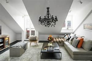Einrichtung Wohnzimmer Ideen : kleines wohnzimmer einrichten ideen stilvolle einrichtung dachschr ge 2 og pinterest ~ Sanjose-hotels-ca.com Haus und Dekorationen