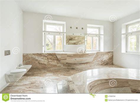 plancher chauffant salle de bain salle de bains ch 232 re avec le plancher de marbre photo stock image 47608784