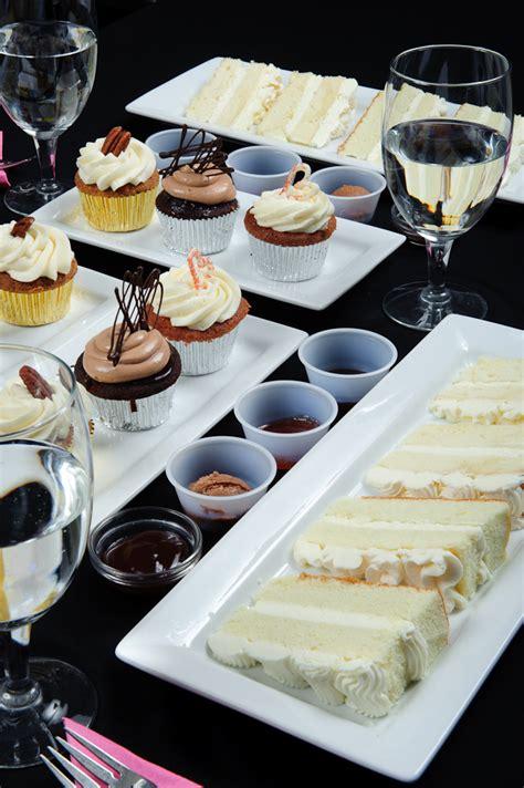 wedding cake tasting  pretty  eat brides cake samples
