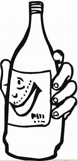 Soda Drinks Coloring Printable Smiling Pages Template Coloringpages101 Sheet Pop sketch template