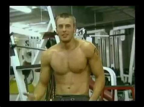 chris evans workout  captain america youtube