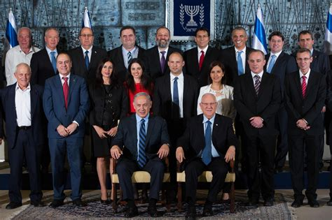 Cabinet Members by Israel S New Cabinet Takes Office Fanack