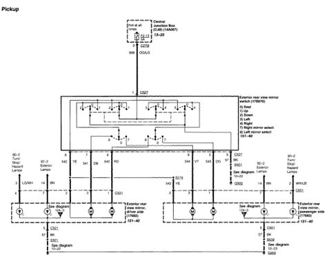 Looking For Wiring Diagram The Electric Mirrors