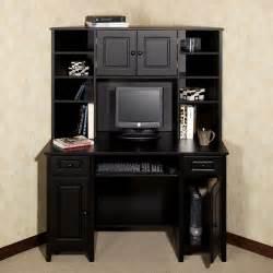 black home office desk with hutch corner desk with hutch auston black home in 2019
