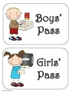 bathroom pass ideas bathroom pass on bathroom procedures pass and restroom pass