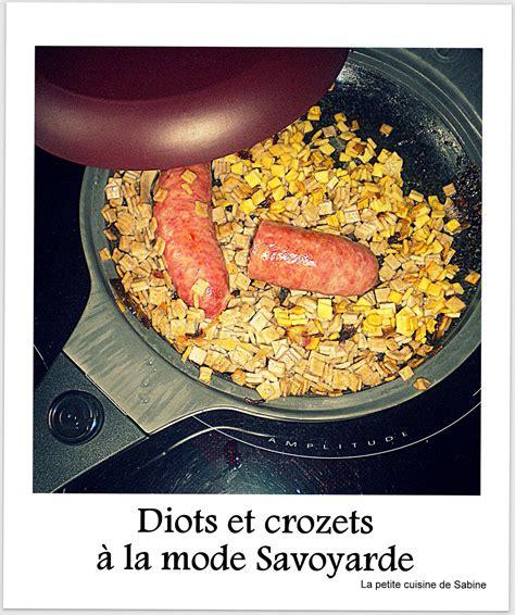 cuisiner les crozets de savoie crozets et diots de savoie facile recette sur cuisine