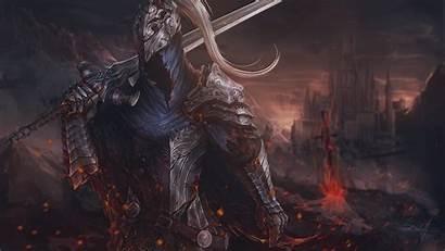 Souls Dark Fan Armor Fantasy Wallpapers Sword