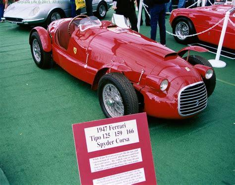 first ferrari ever made airplane life the very first ferrari ever built