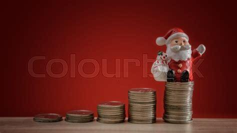 christmas holiday background  santa stock photo