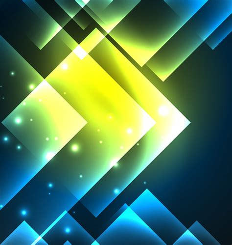 abstract neon background  shining light vector