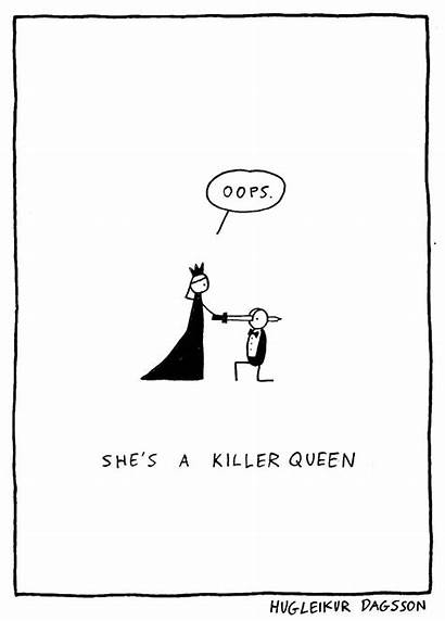 Dagsson Hugleikur Comics Song Queen Killer Literal