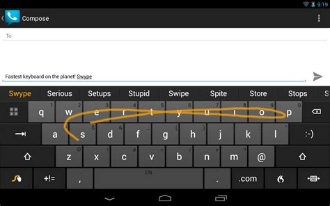 swype keyboards for android android keyboard swype finally on play eurodroid