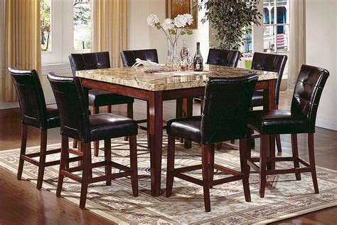 Rooms To Go Dining Tables - montibello gathering table 6 stools at gardner white