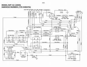 Toro Zero Turn Mower Wiring Diagram