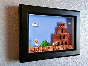 Super Mario Deko : super mario bros nes arcade mario erreicht bowsers von decor8bitart gaming projekte deko ~ Frokenaadalensverden.com Haus und Dekorationen