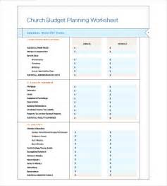 Sle Church Budget Spreadsheet 10 Church Budget Templates Free Sle Exle Format Free Premium Templates