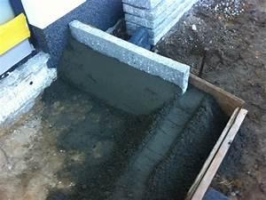 Pflastersteine Selber Machen : eingangspodest aus naturstein treppenstufe aus granit podest aus pflaster hausbau blog ~ Yasmunasinghe.com Haus und Dekorationen