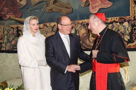 lcl siege ll aa ss le prince albert ii de monaco et la princesse