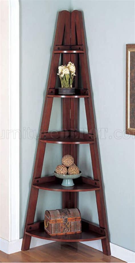 modern corner shelf rubbed black or mahogany finish modern corner shelves