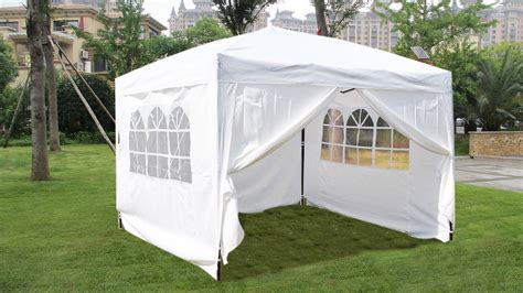 mcombo   ez pop  wedding party tent folding gazebo canopy  sides ebay