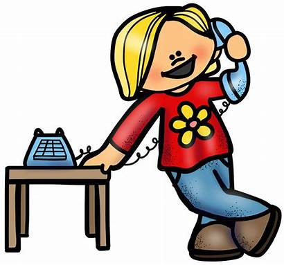 Call Phone Clipart Telephone Child Clip Calling