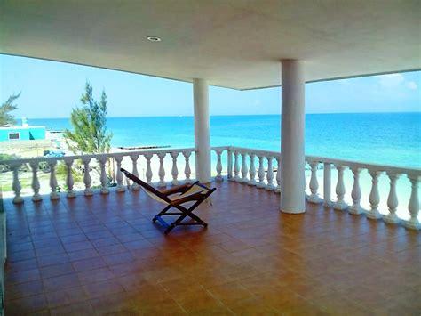 chelem beachfront beauty yucatan home  sale