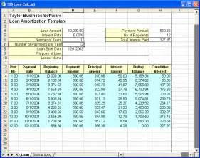 Microsoft Excel Amortization Schedule Template Excel Loan Amortization Template Amortization Schedule Template 7 Free Word Excel Pdf