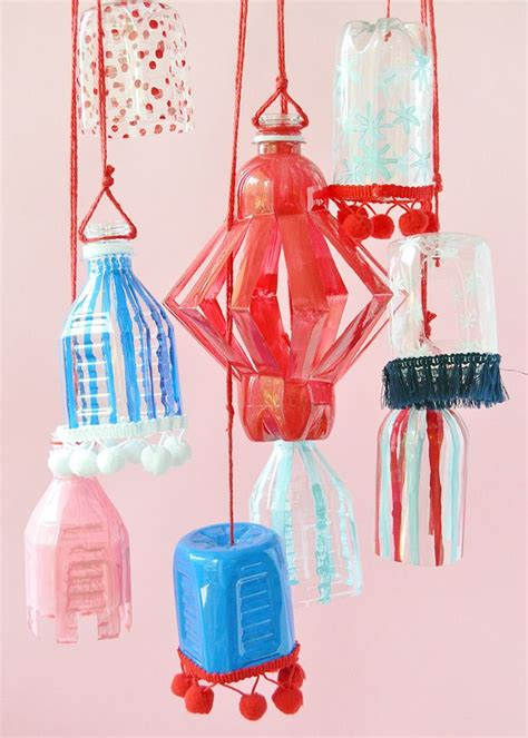 Decorating Ideas Using Plastic Bottles by Recyclable Plastic Bottle Lanterns Diy Crafts