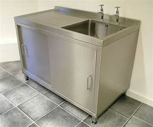 Stand Alone Kitchen Sink Catering Sink And Cupboard Unit