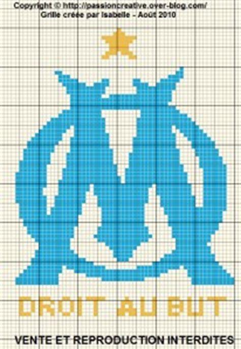 timbre de cuisine grille gratuite point de croix om olympique de marseille