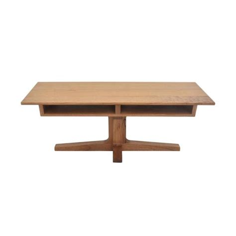 Here, you can find stylish storage coffee tables that cost less than you thought this arsos coffee table with storage comes from the roughhewn acacia used in its creation. Hopper Studio Leroy 47 in. Light Blond Large Rectangle Wood Coffee Table with Storage ...