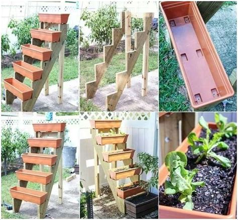 vertical vegetable garden planters 5 diy vertical gardens that you ll love to have in your home