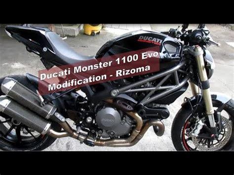 Modification Ducati by Modification Ducati 1100 Evo Rizoma