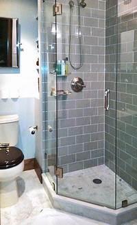 great small space corner shower Jason's Luxe Factor | bathroom | Pinterest | Bathroom, Small bathroom and Tiny bathrooms