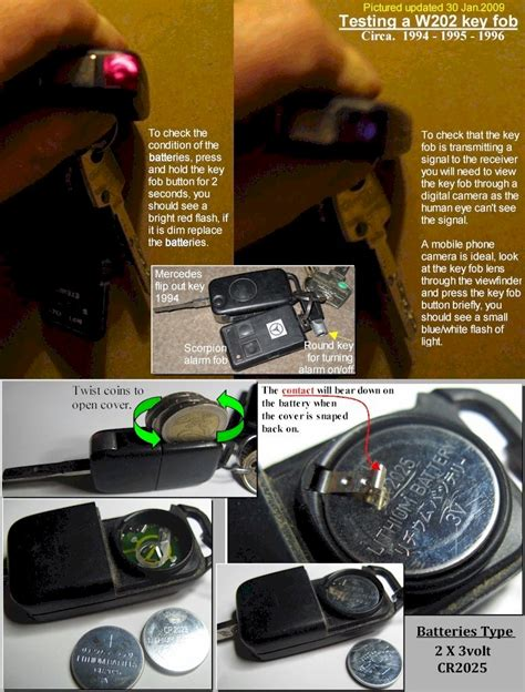 The black case will pop open, and you can lift it all the way up and take out the small mercedes key battery. Reset mercedes c180 key fob