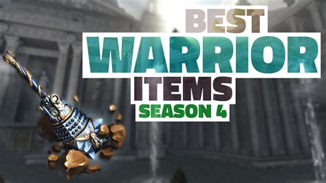 season items warrior