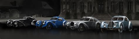 Designed by jean bugatti the lightweight type 57 atlantic was truly the world's first supercar! Bugatti Type 57SC Atlantic celebrates its 80th birthday ...
