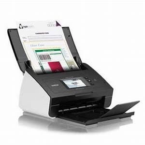 brother ads 2600we a4 desktop wireless document scanner With network attached document scanner