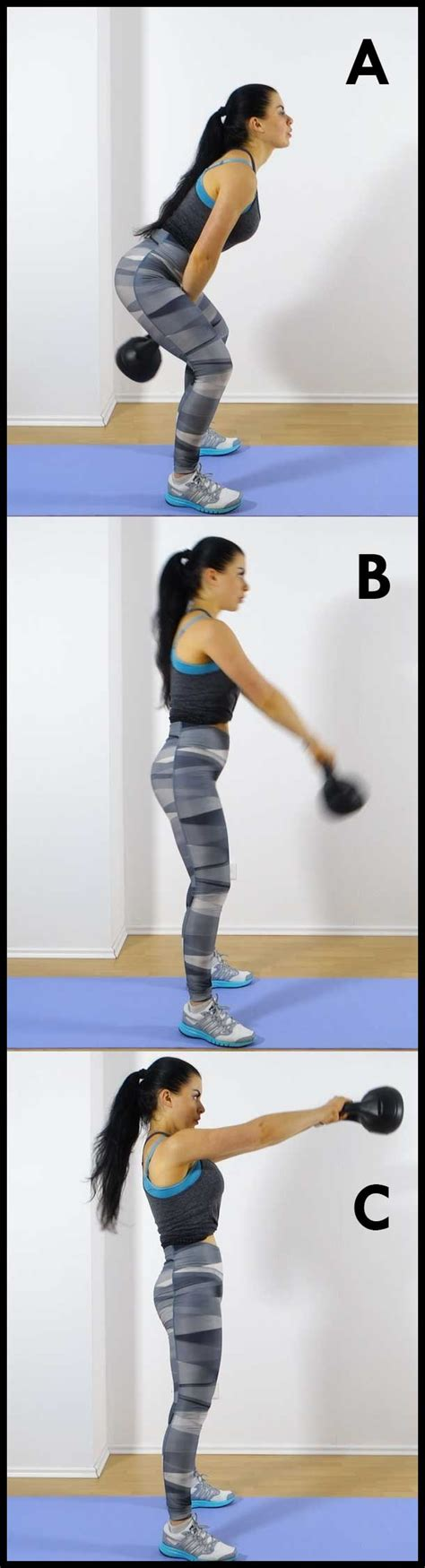 kettlebell swing workout body femniqe workouts minute routine