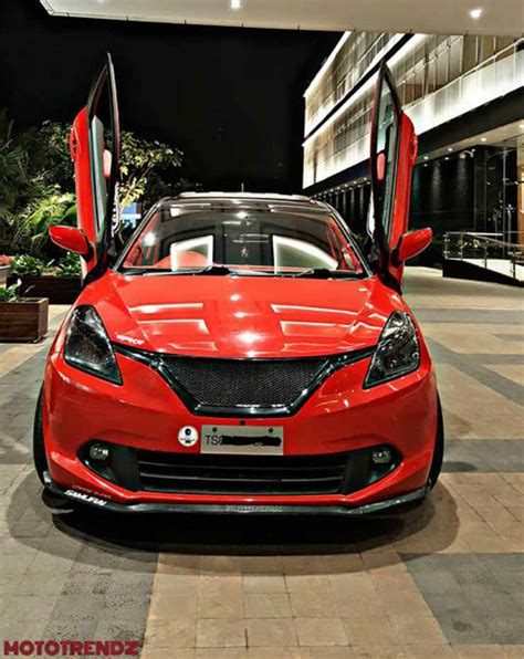Modified New Baleno 2015 by India S Wildest Modified Baleno Is Here We Like