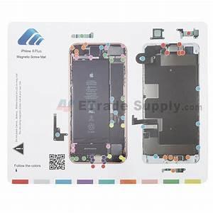 Apple Iphone 8 Plus Magnetic Screw Mat - Grade R
