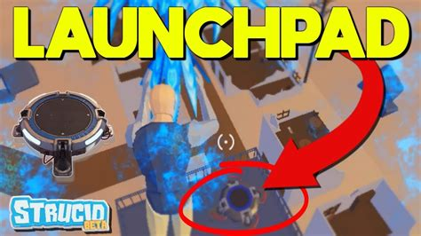 launch pad  op  strucid roblox youtube