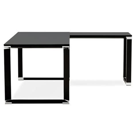 bureau d angle bois bureau d 39 angle design quot hovik quot bois noir