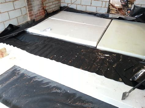 concrete floor insulation products laying an insulated concrete floor diy my extension
