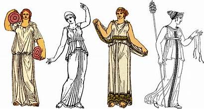 Greek Ancient Clothing Google Chiton Clothes Garment