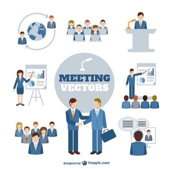 14434 business meeting clipart business vectors 10 500 free files in ai eps svg format