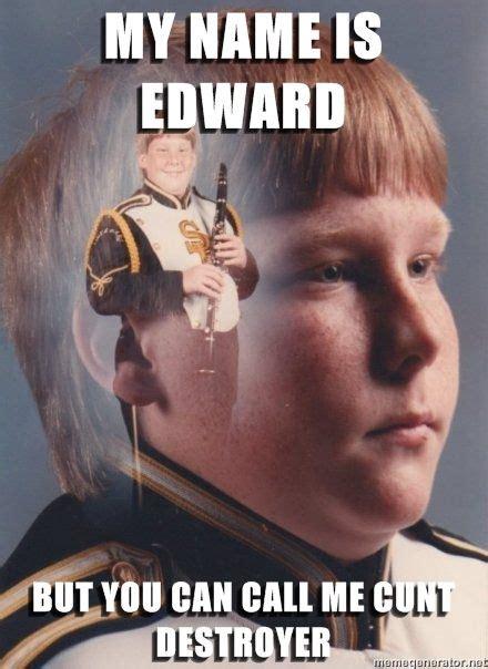 Edward Meme - image 46002 ptsd clarinet boy know your meme