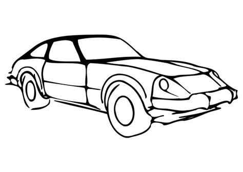 Kleurplaat Simpele Auto by Kleurplaat Auto Afb 10259 Images